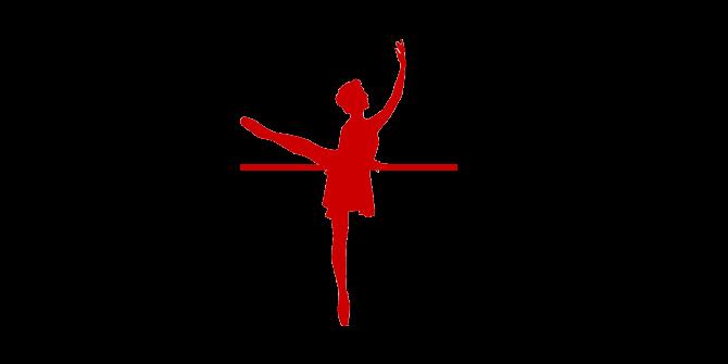 klassisches Ballett Grafik Ballerina